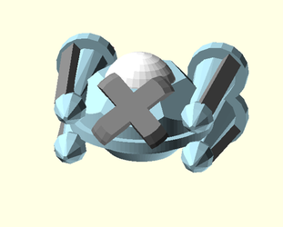 Metagross UFO by CodeAndReload