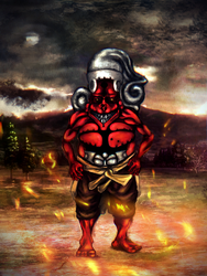 TOSON THE DEMONIC TITIAN by StevenAnthonyR