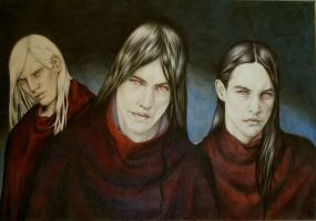 the Volturi by aryundomiel