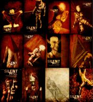 Silent Hill cards by Lucius-Ferguson