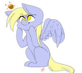 Derpy by Illiterate-Swine