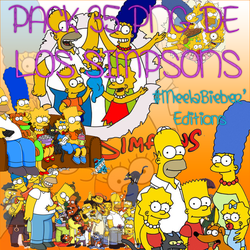 Pack 35 png Los Simpsons by MeelaBosteritaa