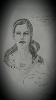 Molly Hooper by Phoebusinvinctus