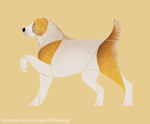 Year of the Dog - Central Asian Shepherd Dog by Kelgrid