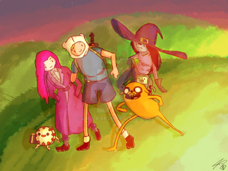 Collab: Come Along With Me by lucila-88