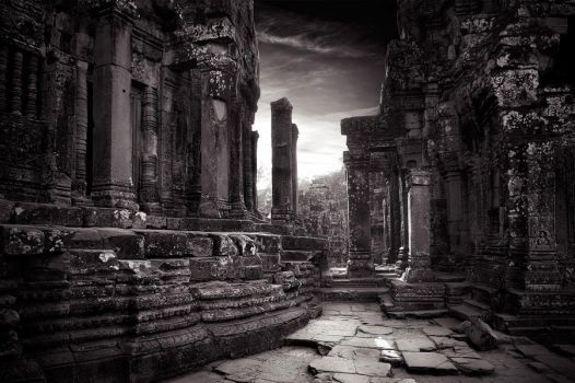 Bayon Temple, Cambodia by elementality