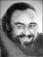 Luciano Pavarotti Tribute by Lynne-Abley-Burton
