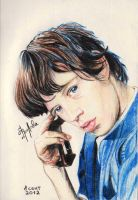 Mick Jagger by FROLOVA