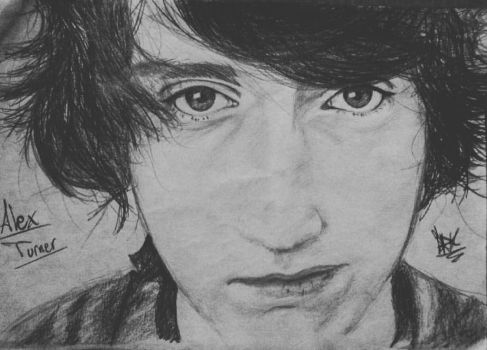 Alex Turner by MrGuigle