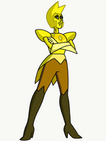 SFSF - Yellow Diamond  by KujaroJotu
