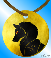 Scarheart's Medallion (Remake) by horse14t