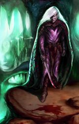 Alone in the Underdark by CarstenO
