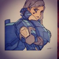 Phara Overwatch by gail11