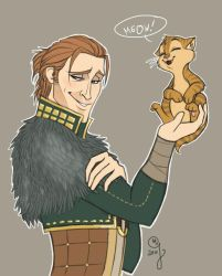 Anders and Kitty by Mebridia