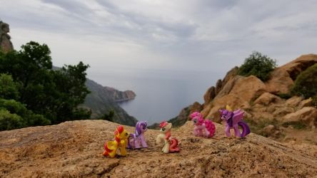 Scenic Touring through the Calanques by GrandMoffPony