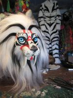 Kabuki Kitty Premade (for sale!) wip by LilleahWest