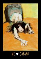 We love Sadako by Basu-zo