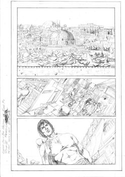 Shang Chi page 01-Refused Test by JeanSinclairArts