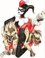 Harley with Bud and Lou by gothictutu