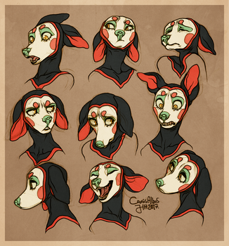Fonda expressions by CanisAlbus