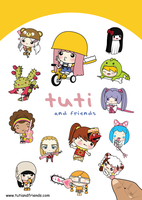 Tuti And Friends by fajardesign