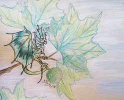 Leafy Fae by Umberink