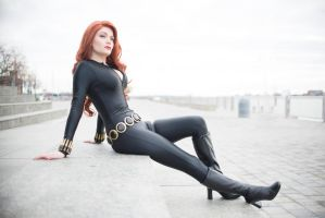Black Widow Cosplay by prettylush0