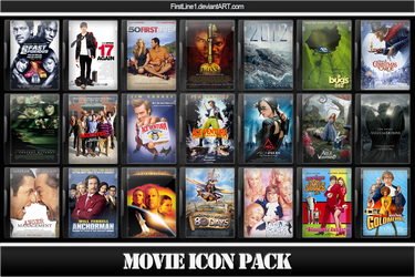 Movie Icon Pack 1 by FirstLine1
