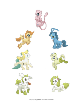 MLP Tiny Legendaries by Almairis