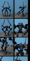 bionicle: glith/charoko by CASETHEFACE