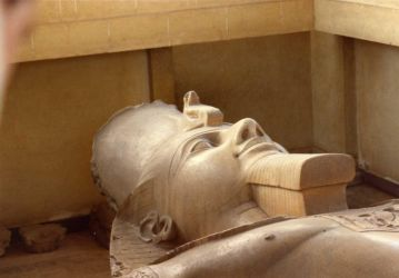 Ramses Statue stock by rustymermaid-stock