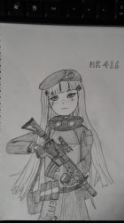 Girl's frontline, HK416 by sunung0317