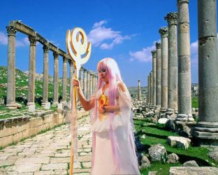 Sasha Athena in the Sanctuary by Zulima-Cosplayer