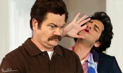 Parks and Rec by KristaDLee