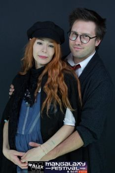 Cosplay couple Lily et James by Mlle-Cle-Art