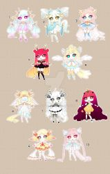 [CLOSED TY] Adoptable 79 - Fragile by Puripurr