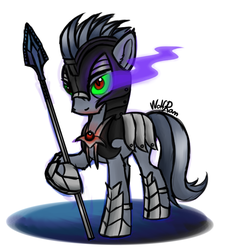 Sombra's Warrior by Wolframclaws