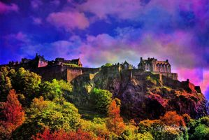 Edinburgh Castle Colors 01July2016 by MSchmidtProductions