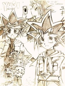 Yugi Mutou by mingming07