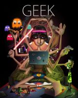 GEEK by CarlosDattoliArt