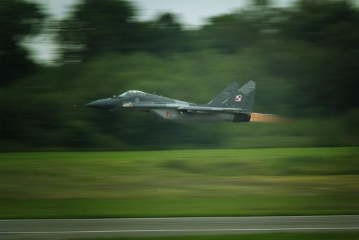 Mig-29 Polish Air Force by Rikkubeauty