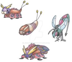 Ground Moth Pokemon