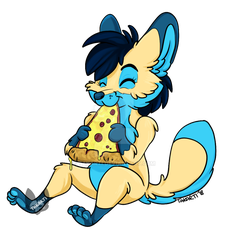 Pizza for Rue by Takarti