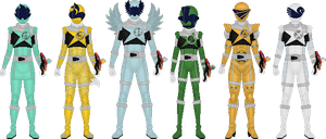 Additional Kyurangers, Part 3 by Taiko554