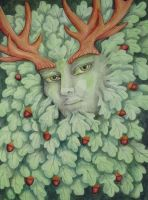 Green Man by meliruth