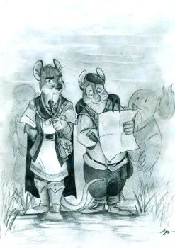Martin and Gonff by FortunataFox