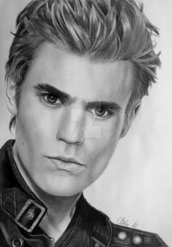 Paul Wesley aka S. Salvatore, Vampire Diaries by Mim78