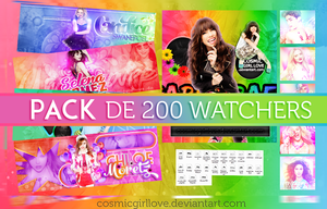 ++Pack 200 Watchers by CosmicGirlLove