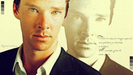 Benedict Cumberbatch wallpaper 11 by HappinessIsMusic