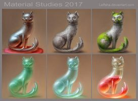 Material studies 2017 by Leffsha